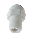 John Guest Straight Adaptor 14 Tube x 14 Thread For Sale