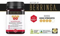 Buy Berringa Manuka Honey 400+ 500g